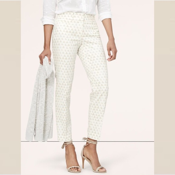 LOFT Pants - LOFT Petite Triangle Riviera Pants in Marisa Fit